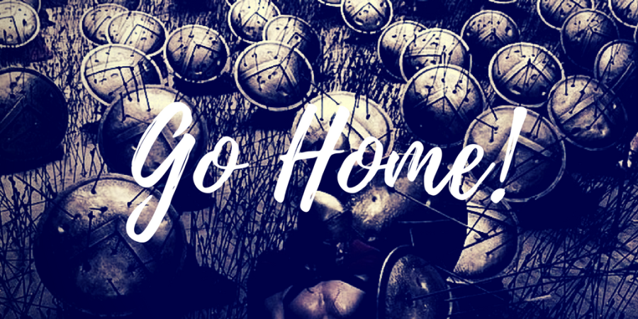 Go Home! :: Haiku and Micropoetry
