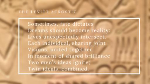 The Levitt Acrostic