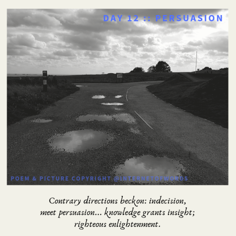 Day 12 __ Persuasion