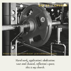 Day 13 __ Church