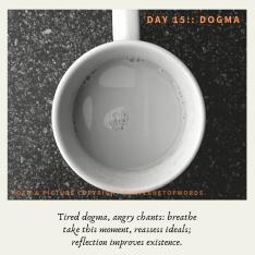 Day 15 __ Dogma