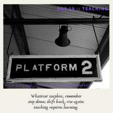 Day 19 __ Teaching