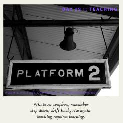 Day 19 __ Teaching