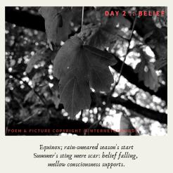 Day 2 __ Belief