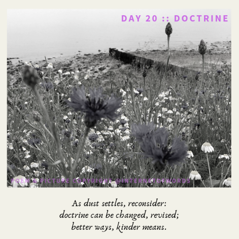 Day 20 __ Doctrine