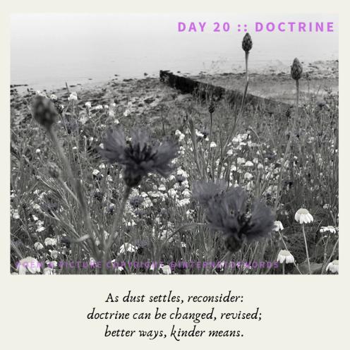 Day 20 __ Doctrine