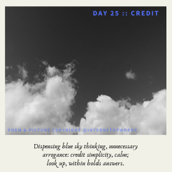 Day 25 __ Credit