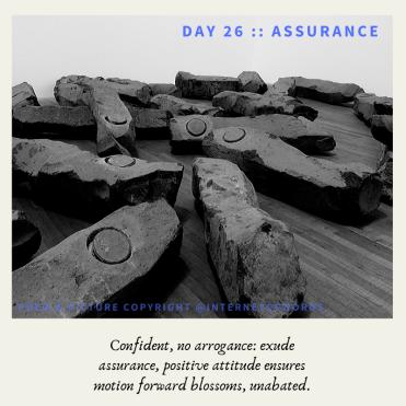 Day 26 __ Assurance