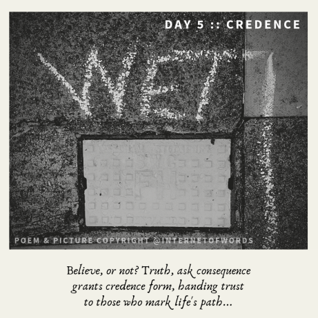 Day 5 __ Credence