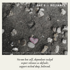 Day 6 __ Reliance