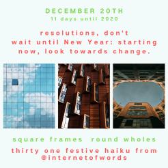 Square Frames Dec 20th