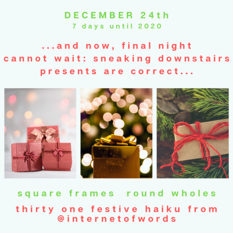 Square Frames Dec 24th