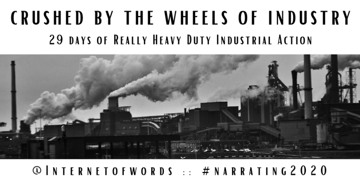 FEBRUARY_ Crushed by the Wheels of Industry